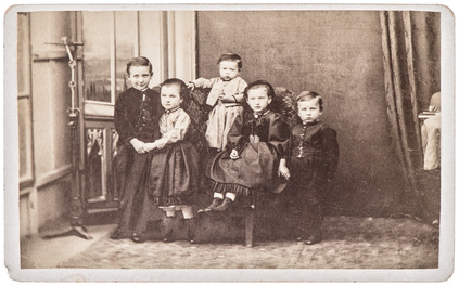 Photo representing children remembering past lives