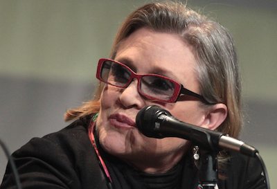 Carrie Fisher's Death: Victimized but Never the Victim
