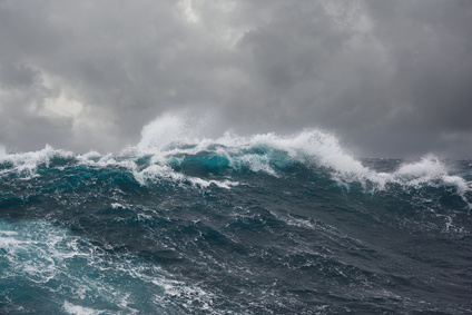 rough sea, battling the perfect storm of past life fears of judgment and inferiority