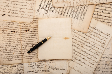 Letters and fountain pen, why we write