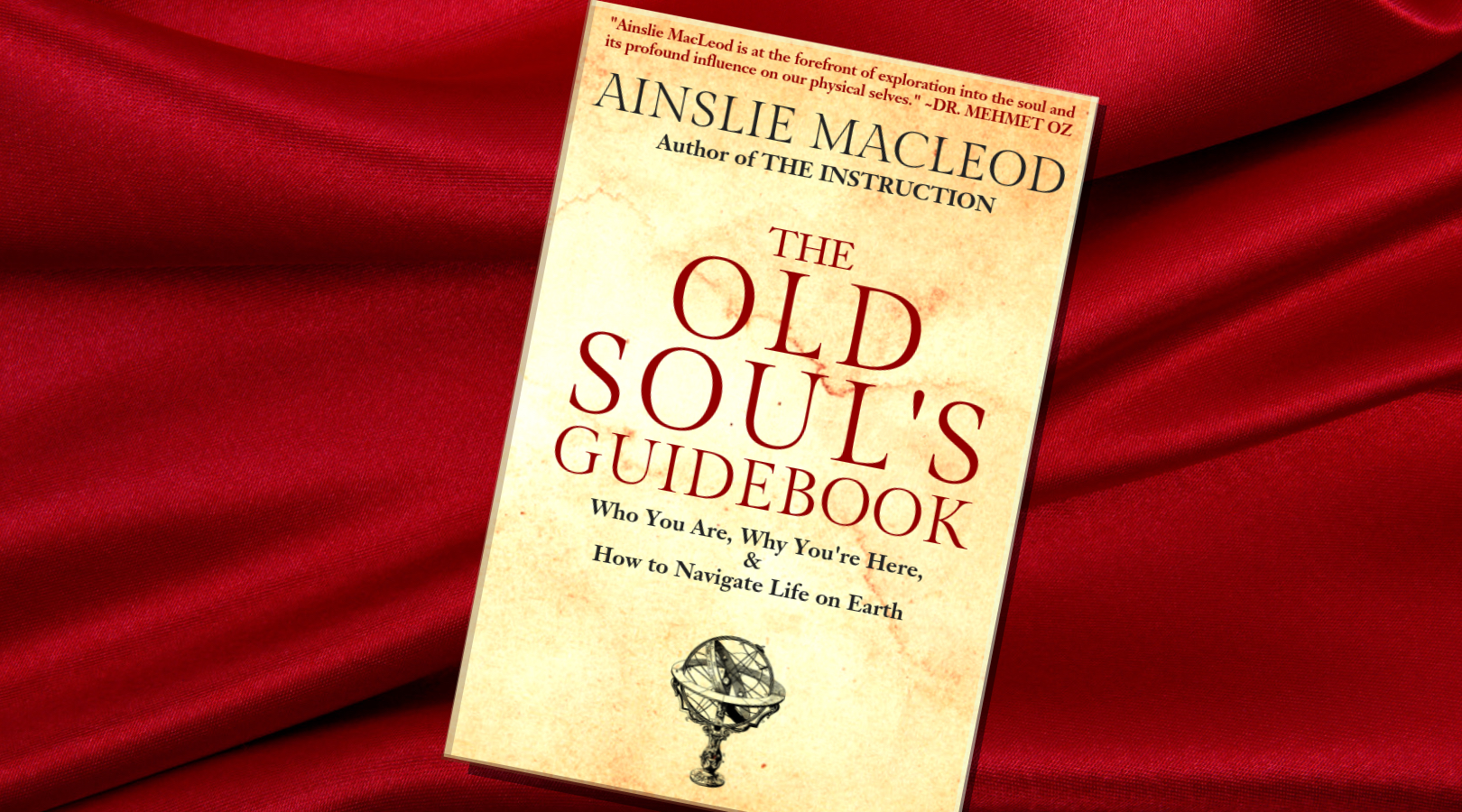 book cover The Old Soul's Guidebook by Ainslie MacLeod Past Life Psychic