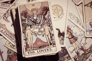 tarot card representing past life lovers, past life questions and answers