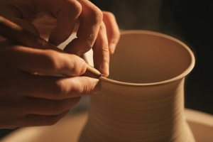 a potter makes a ceramic mug, what is my life purpose